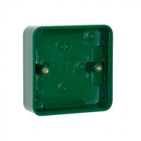 STP-GBB Green Surface Back Box single gang