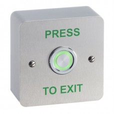 STPSPB040S  -Illuminated Piezo single gang surface mount exit button